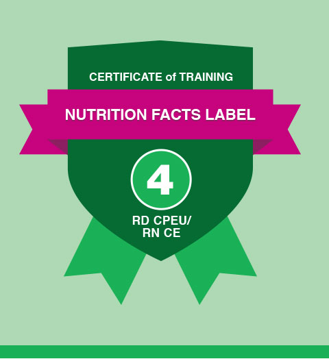 Nutrition Fact Level