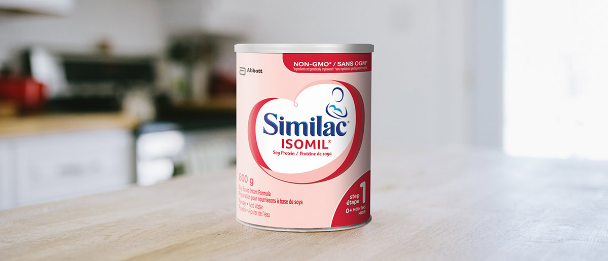 Similac Isomil Step 1 Non Gmo Baby Formula In A 800g Powder Can