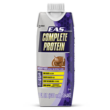 EAS COMPLETE PROTEIN SHAKE CHOCOLATE FUDGE
