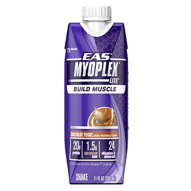 MYOPLEX LITE SHAKE CHOCOLATE FUDGE