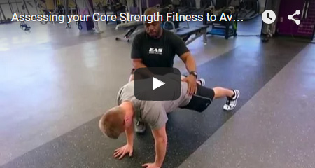 Assessing your Core Strength Fitness to Avoid Pain - EAS Fitness and Training