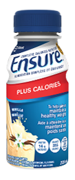 Ensure<sup>®</sup> Plus Calories can help manage cancer-related fatigue caused by a decrease in energy intake.