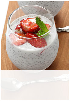 Vanilla-Coconut Chia Pudding