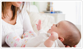 Helping your 4-month-old baby develop language skills