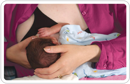 Breastfeeding Position Cradle