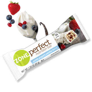 Greek Yogurt Vanilla Berry bar