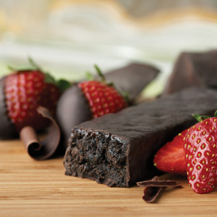 Dark Chocolate Strawberry ingredients