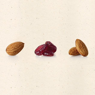 Cranberry Almond ingredients