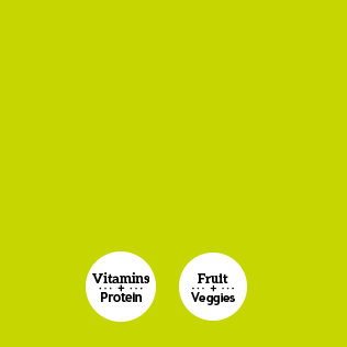 Vitamins and Protein, Fruit and Veggies