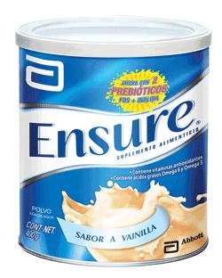 Ensure® Polvo con prebióticos FOS e Inulina