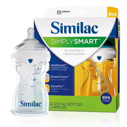 SimplySmart baby bottle