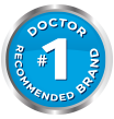 #1 doctor recommended