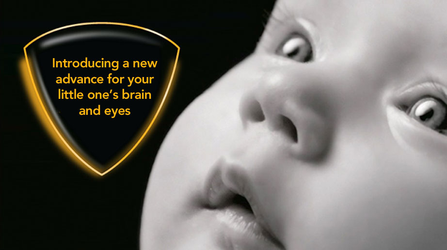 Introducing a new advance for your little one's brain and eyes