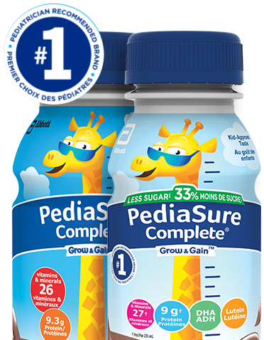 PediaSure Complete is the number one pediatrician recommended brand