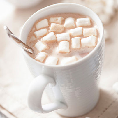 PediaSure® image of hot cocoa with mini marshmallows