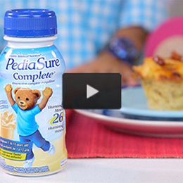 PediaSure Complete® is the #1 pediatrician recommended brand