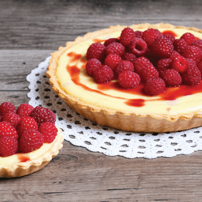 PediaSure® recipe for delicious raspberry tarts