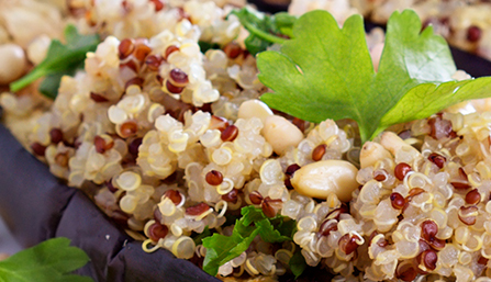 PediaSure® Quinoa with Pine Nuts Recipe
