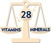 28 Vitamins & Mineral
