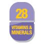 28 Vitamins & minerals