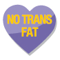 Lower in fat