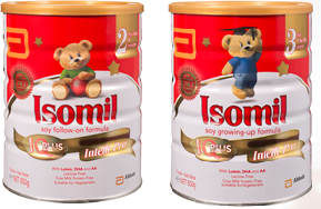 Isomil – World's No 1 soy formula, trusted for generations
