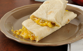 Scrambled Egg Breakfast Burrito