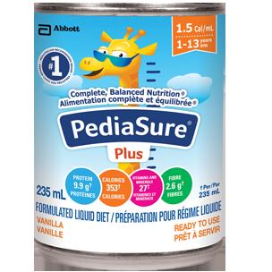 PediaSure® Plus (With Fibre)   Abbott Nutrition Canada
