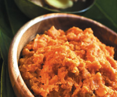 Roasted Sweet Potato Mash