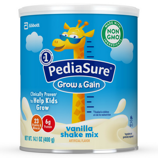 PediaSure® Grow & Gain Shake Mix - Vanilla