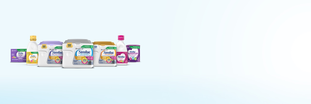 Similac family of products for infant nutrition