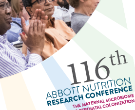 The cover page of the 116th Abbott Nutrition Research Conference newsletter