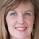 A headshot of Dr Alison Steiber