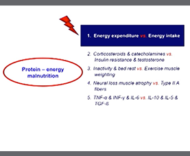 A slide on protein, energy, and malnutrition from the 2012 ESPEN conference