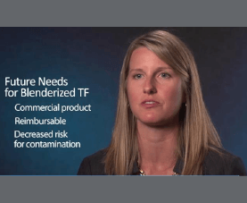 Lisa Epp answers questions on the future needs for blenderized tube feeding.