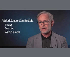 Robert Murray answers questions on added sugars and when they can be safe.