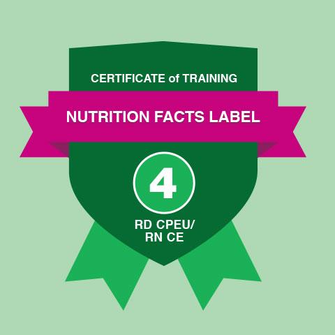 nutrition education certificate of training abbott nutrition