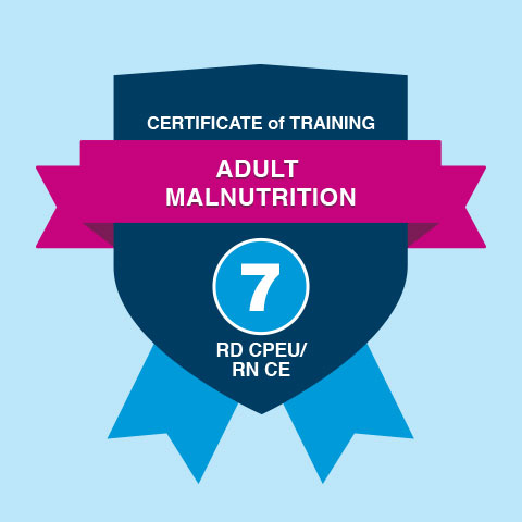 Certificate of Training in Adult Malnutrition