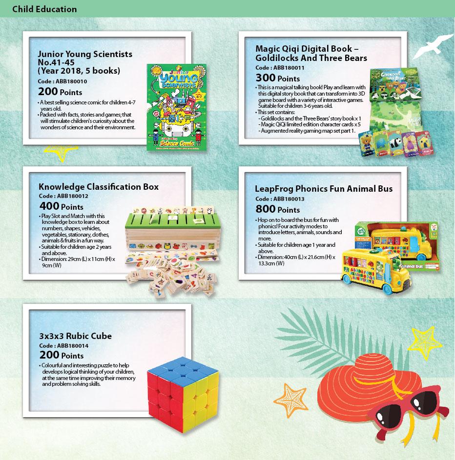 Child Education catalog
