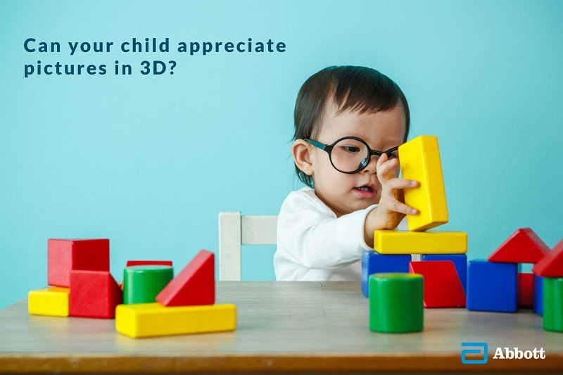 Can your child appreciate pictures in 3D