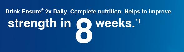 Ensure header, strengthen in 8 weeks