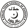 Halal food council Europe logo