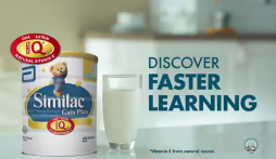 Similac gain plus Discover fast learning