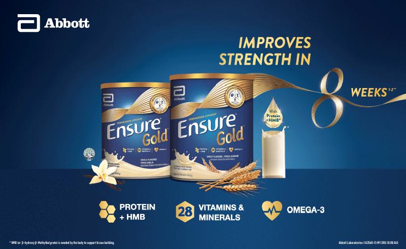 ensure gold - formula milk for elders