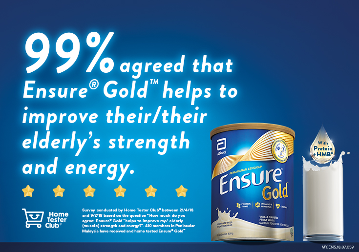 Some of our users say about the product | Ensure Gold