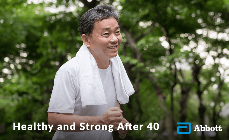 Healthy and strong after 40