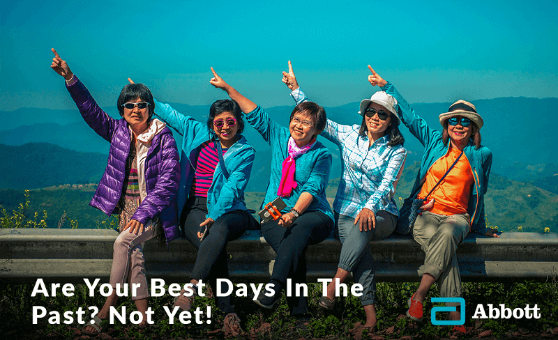 Are your best days in the past