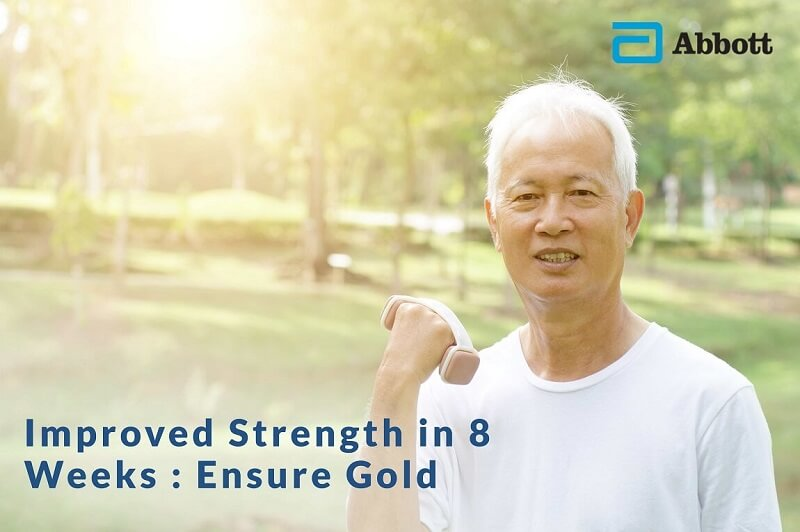 Improved Strength in 8 weeks : Ensure Gold