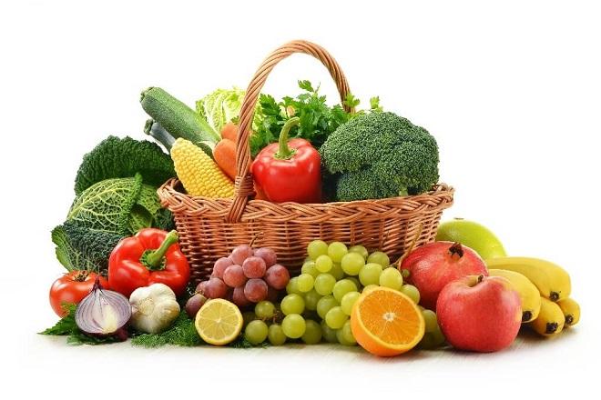 Rau xanh và trái cây luôn là loại thưc phẩm tốt cho tim mạch dễ tìm và dễ hấp thụ