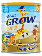 Sữa abbott grow gold 3+